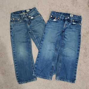 2 pairs Polo by Ralph Lauren 4T Jeans
